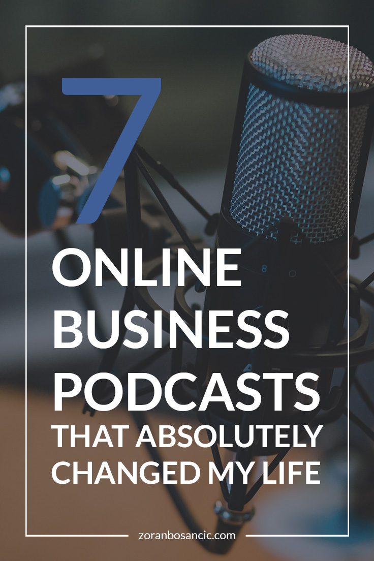 Online business podcasts that will help you grow as a person, entrepreneur, and will help you step up your business game